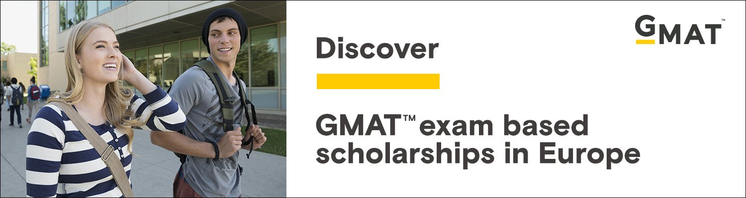 Scholarships with GMAT scores